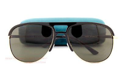 Brand New GUCCI Sunglasses GG 0292/S 001 Black/Grey For Men