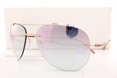 New Silhouette Sunglasses Adventurer 8142 6251 Rose Gold/Mint-Rose (Adventure Sunglasses)