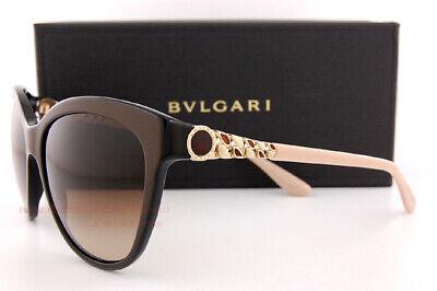 Brand New BVLGARI Sunglasses BV 8158 897/13 Brown Gradient Women