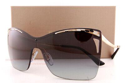 Brand New BVLGARI Sunglasses BV 6138 2014/8G Gold/Gray Gradient For Women