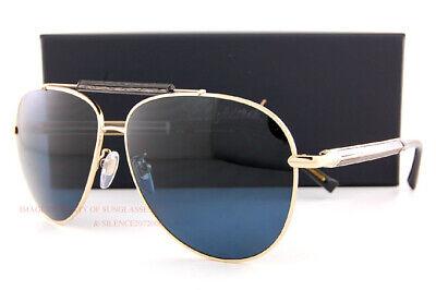 Brandneu Chopard Sonnenbrille Sch C94 300p Gold / Grau Blau für Männer