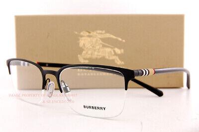 Brand New BURBERRY Eyeglass Frames BE 1323 1213 Black For Men Women Size (Burberry Frames For Men)