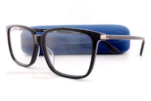 Brand New GUCCI Eyeglass Frames GG 0019/O  001 Black For Men Women