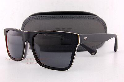 Brand New EMPORIO ARMANI Sunglasses 4048 5390/81 BLACK/GRAY  Men
