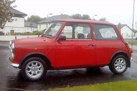 1994 Rover Mini Sprite, 1275cc carb version, genuine 23,000 miles, manual gearbox.