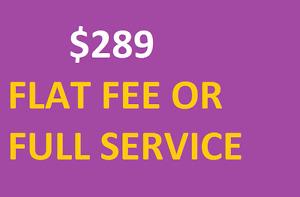 $289 Flat Fee MLS Listing in Waterloo