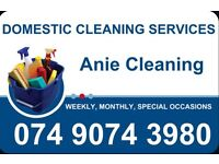 Domestic Cleaner from £10 per hour in Nottingham