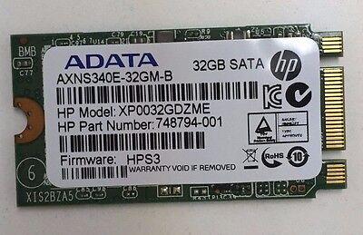 Built-in hard drive 748794-001 HP 32GB