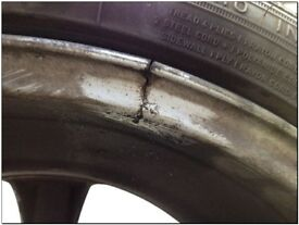 Alloy crack weld