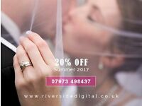 Professional Wedding & Event Photography 20% OFF Summer 2017 - 07973 498437