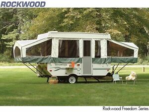 2006 Rockwood tent trailer 10' box for rent, sleeps 6