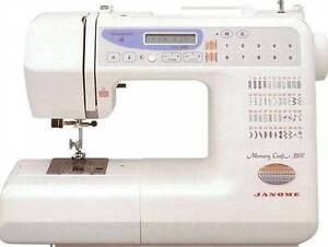 Janome Memory Craft MC3500 Embroidery Sewing Machine Chatswood Willoughby Area Preview