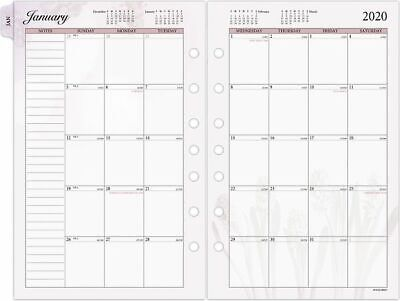 At-a-glance Day Runner Nature Monthly Planner Refill Size 4 - Monthly Planner