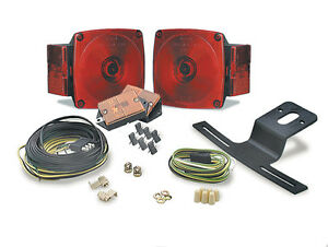 Trailer Kit Incadescent  - Tail light with side marker