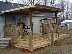DECKS/SIDING/FENCING(SEE OUR PICS)FREE QUOTES ON SITE