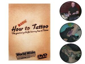 How to tattoo dvd ebay for How to tattoo dvd