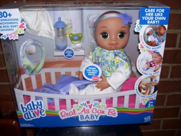 Baby Alive Real As Can Be Baby…NIB