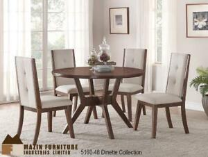 Tufted Chair 5 PC Dining Room Furniture (MA326)