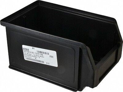 """SSI Schaefer 11 Lb. Load Capacity, 9-1/4"""" Deep, Black Polypropylene Hopper St..."""