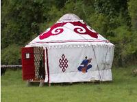 12 Foot diameter Mongolian Yurt