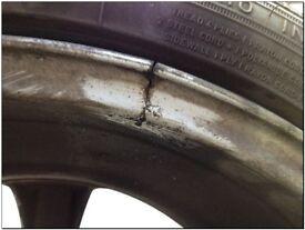 Alloy crack welding