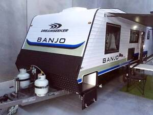 "New Caravan - Dreamseeker Banjo - 21'10"" On road, Family Bunk van Somerton Hume Area Preview"