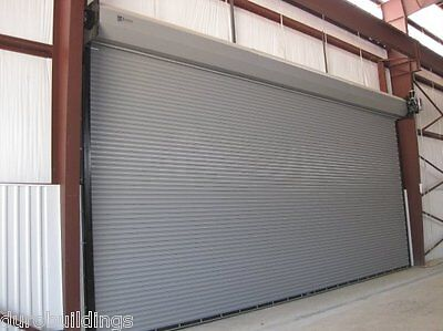 Durosteel Janus 18w X 14t Commercial 3100 Series Windlock Roll-up Doors Direct