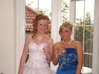 Royal blue tiffany prom dress