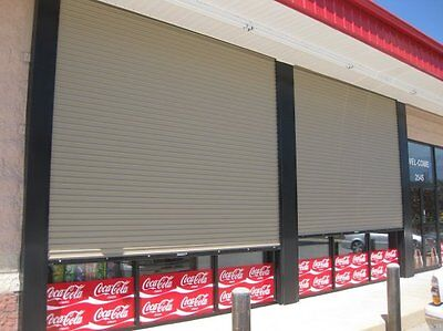 Durosteel Janus 10 X 14 1100 Series Commercial Wind Rated Roll-up Door Direct