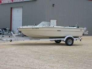 For Sale 18ft SeaRay (as is) with almost new EZ Loader trailer