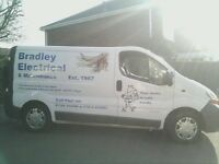 Bradley Electrical, ELECSA approved Electrician, No job too small.