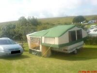 Conway Camper 1992 Folding Camper Van - Lovely condition with lots of extras included in price.