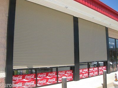 Durosteel Janus 12 Wide By 12 Tall 2000 Series Commercial Roll-up Door Direct