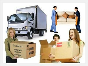 2 MOVERS AND 8X16FT TRUCK CALL US NOW