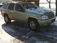 Parting out 2000 jeep grand cherokee