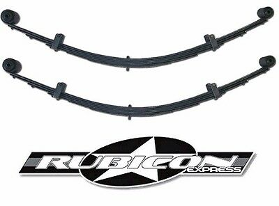 Extreme Duty Leaf Spring - Rubicon Express HD Extreme Duty Rear Leaf Springs w/ Bushings 5.5