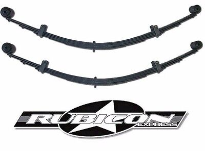 Extreme Duty Leaf Spring - Rubicon Express Extreme Duty Rear Leaf Spring Set w/ Bushings 4.5