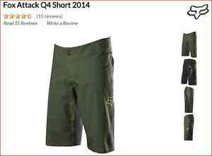 FOX Attack Q4 Short (green and black) #38