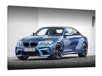 BMW M2 vector vectorized print poster high quality