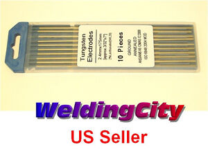 10 2.0% Lanthanated (Blue) Tungsten Electrodes 3/32