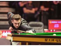 Two tickets - Snooker's Big Shots @ Alexandra Palace Friday 19th Jan 12pm