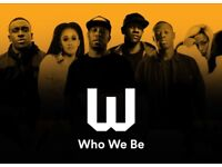 3x Spotify Who We Be Tickets (Paper) Thursday 30th November @ Alexander Palace *Sold Out*