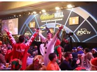 2 X PDC World Darts Championship tickets - 14th December Evening