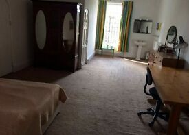 Unusually large en-suite double room in Roehampton for a female occupant