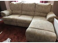 Sofa / Chaise lounge suite