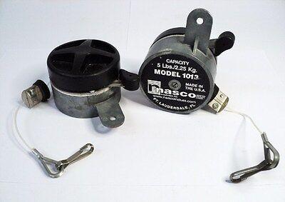 Lot Of 2 Nasco Tb1013 Tool Spring Balancer 5lbs2.25kgs Capacity