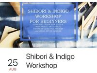 Shibori & Indigo beginners workshop