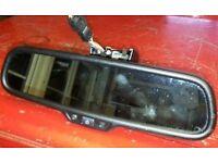 Audi S4 RS4 RS6 Q3 Q5 SQ5 Q7 Rear view Interior mirror full beam