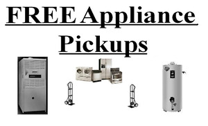 free pick up of appliances