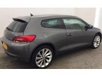 Volkswagen Scirocco 2.0TDI ( 140ps ) BlueMotion Tech 2013MY GT FROM £57 PER WEEK